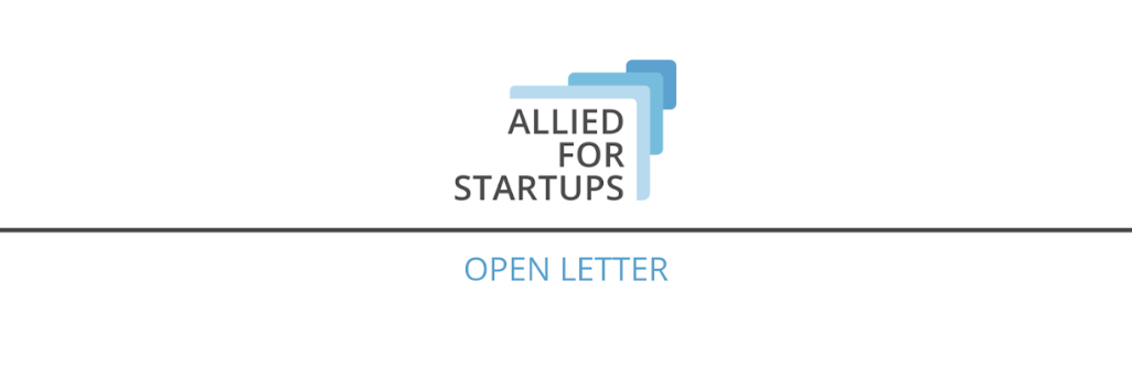 Joint Letter from Startup Communities on Liquidity for Startups